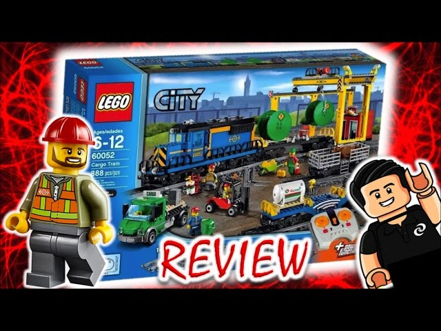 ✅ ESPECTACULAR Tren de Mercancias a Control Remoto Lego City Review en Español