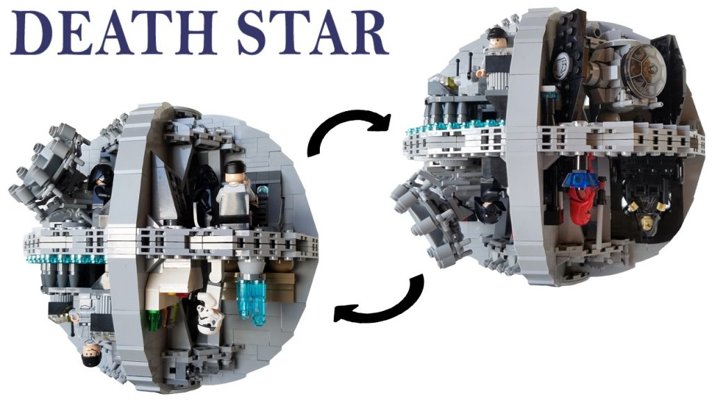 Custom Lego Star Wars Death Star MOC | Building Instructions (Subscriber's Request)