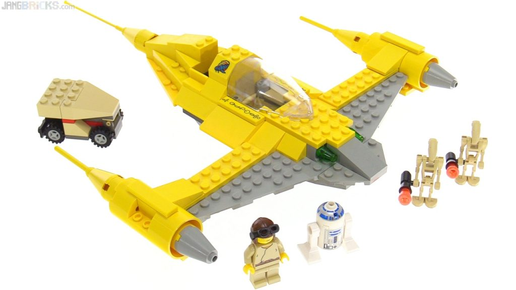 LEGO Star Wars Naboo Starfighter from 1999! set 7141