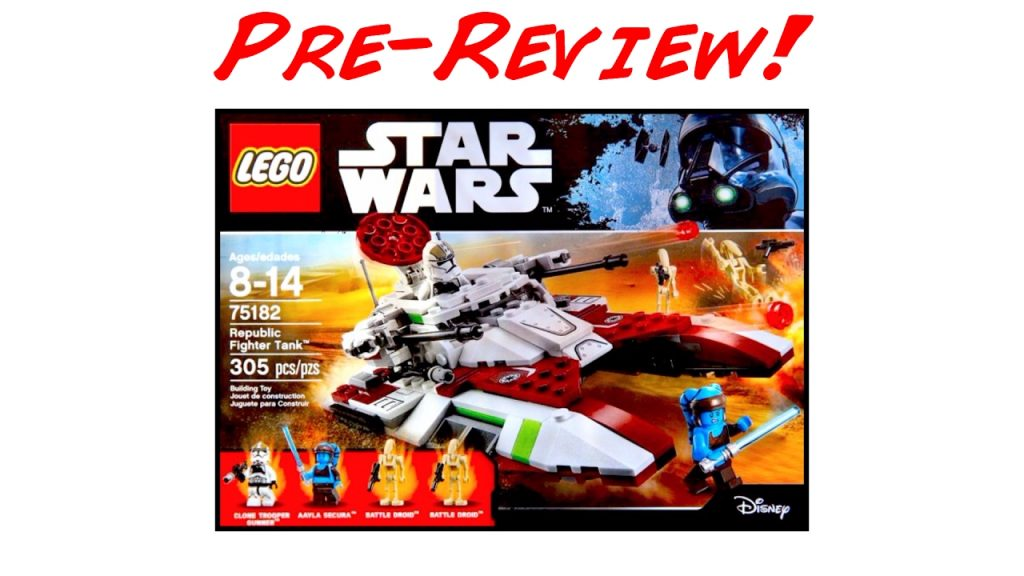LEGO Star Wars 75182 Republic Fighter Tank Pre-Review! (LEGO Star Wars Summer 2017 Set!)