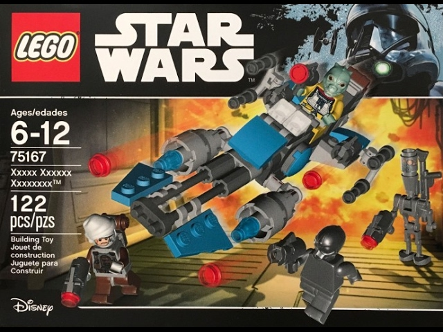 LEGO Star Wars Summer 2017 Box Art Images Revealed!! Bounty Hunter Battle Pack