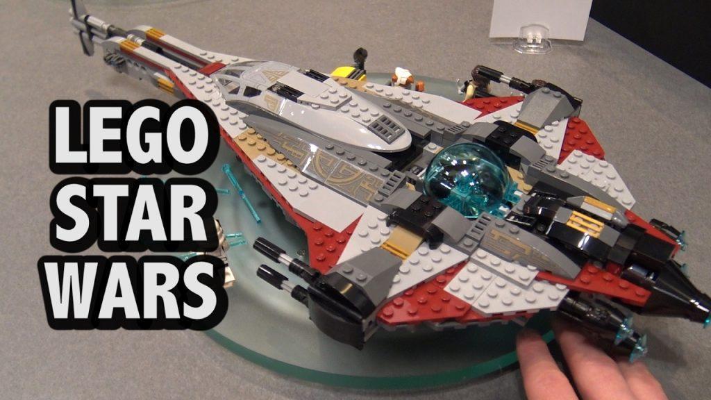 LEGO Star Wars The Arrowhead Ship Set 75186 | New York Toy Fair