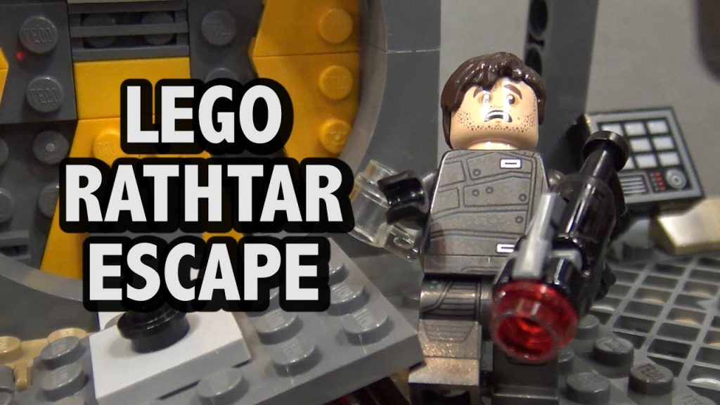 LEGO Star Wars Rathtar Escape Set 75180 | New York Toy Fair