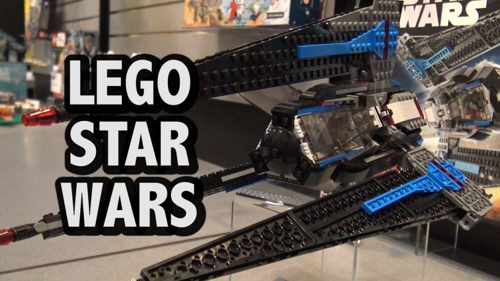 LEGO Star Wars Tracker I Ship Set 75185 | New York Toy Fair