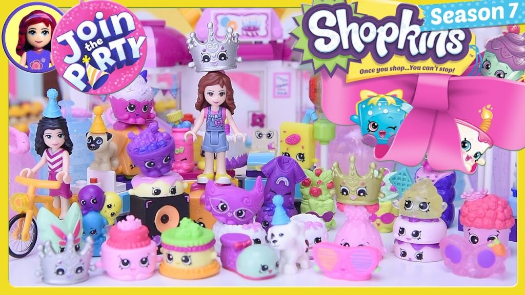 Shopkins Topkins Season 7 Party Toffee Pug's Birthday Lego Friends Silly Play – Kids Toys