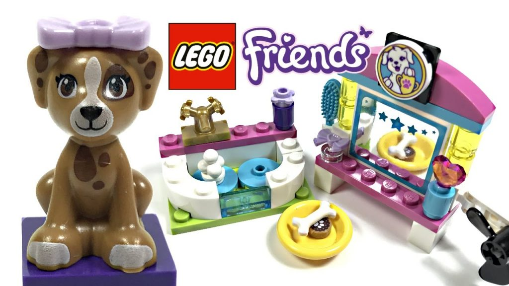 LEGO Friends Puppy Pampering review! 2017 set 41302!