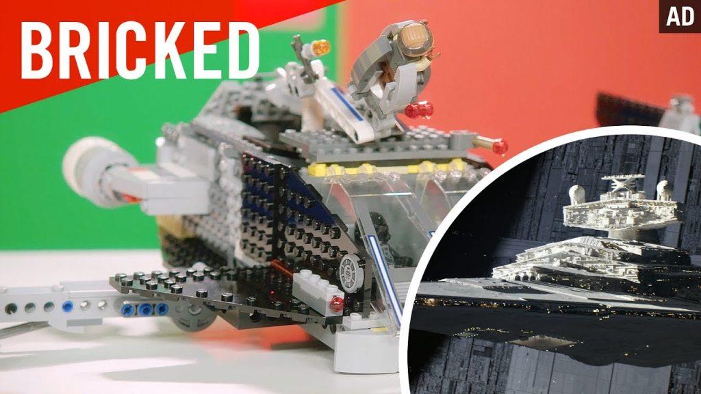 Bricked   LEGO Build Challenge   Star Wars