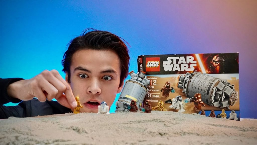 LEGO Star Wars Droid Escape Pod Unboxing,  Speed Build  75136