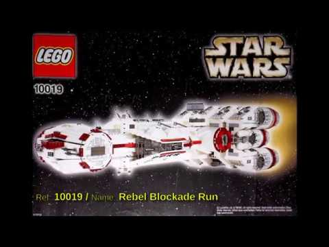 All Lego Star Wars sets from 2001