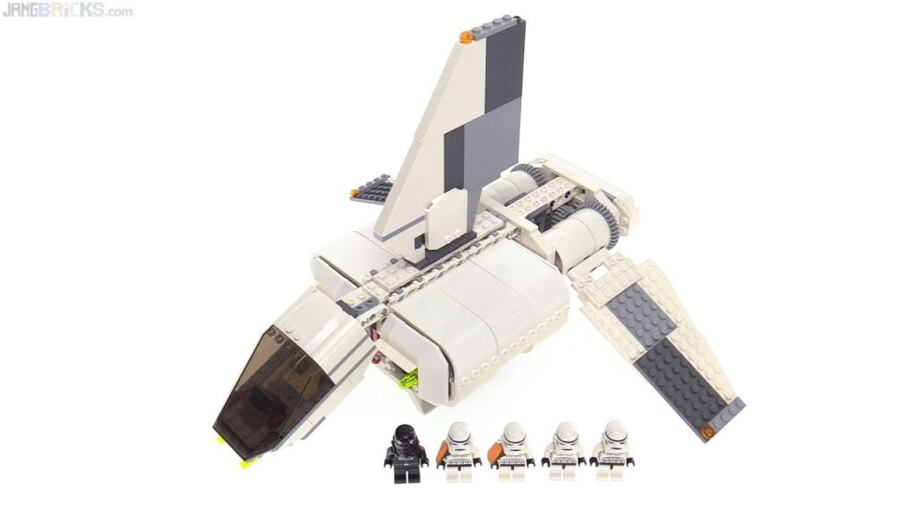 LEGO Star Wars Imperial Landing Craft from 2007! set 7659