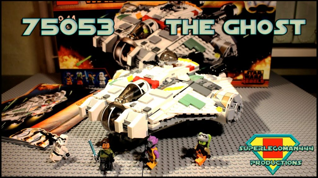 Lego Star Wars 75053 The Ghost Review