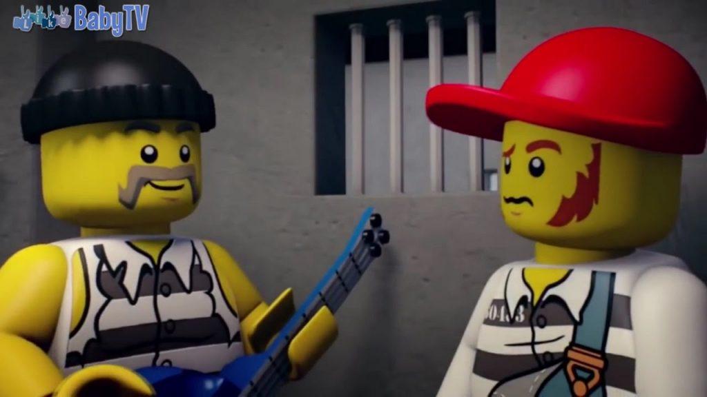 Мультфильм LEGO City про Полицейские Машинки и Грабителей Банков ☆ Лего Мультики для детей