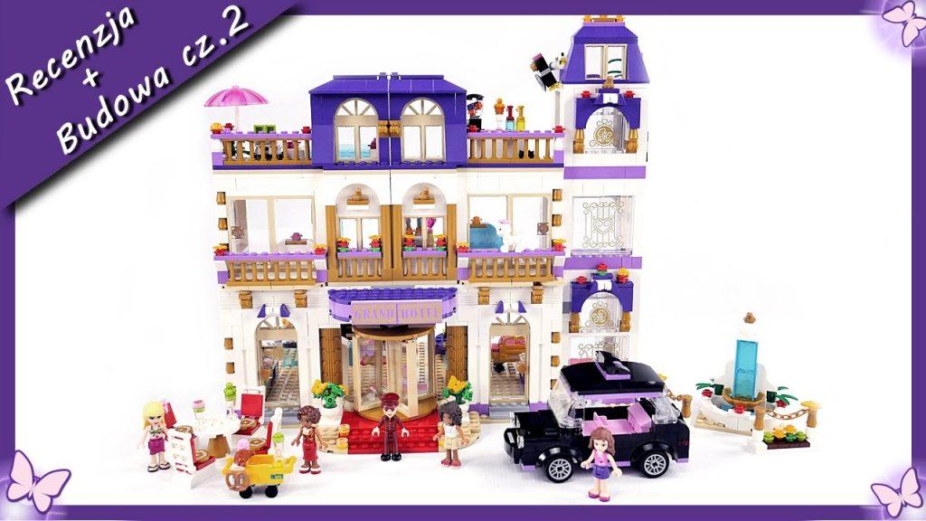 Grand Hotel w Heartlake cz.2 – Budowanie klocków Lego Friends 41101