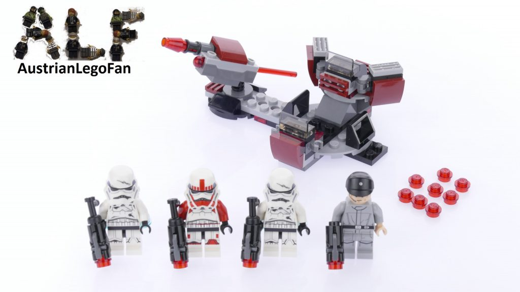Lego Star Wars 75134 Galactic Empire™ Battle Pack – Lego Speed Build Review