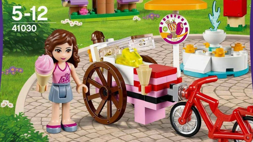 Olivia's Ice Cream Bike / Stoisko z Lodami 41030 – Lego Friends – Recenzja