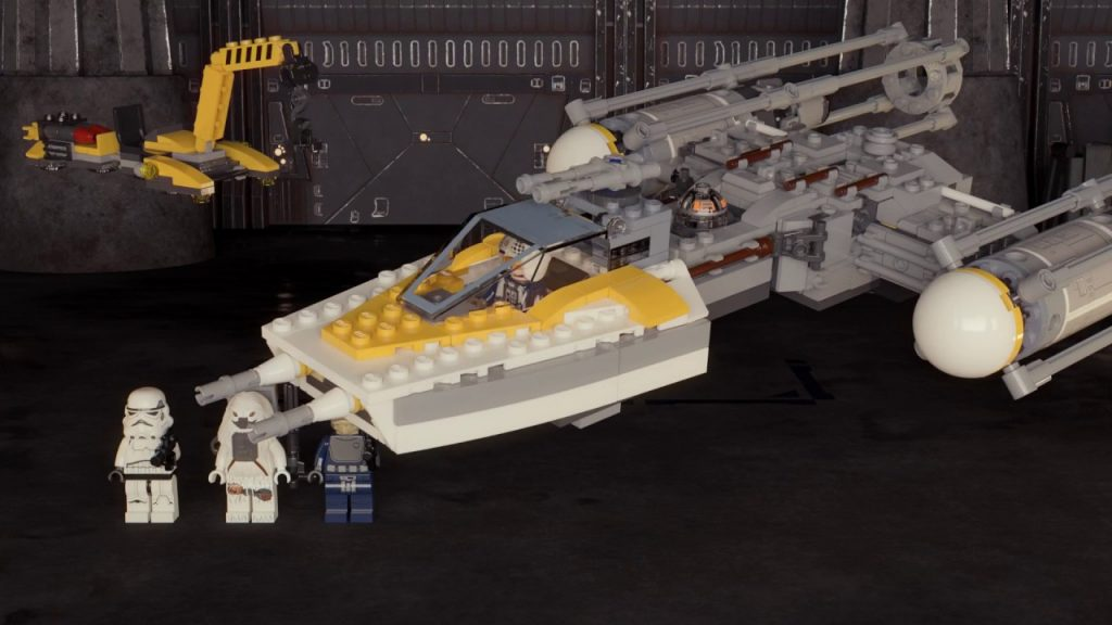 Y-Wing Starfighter – LEGO Star Wars – 75172 – Product Animation