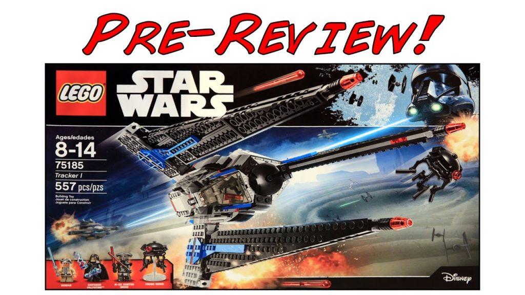 LEGO Star Wars 75185 Tracker 1 Pre-Review! (LEGO Star Wars Summer 2017 Set!)