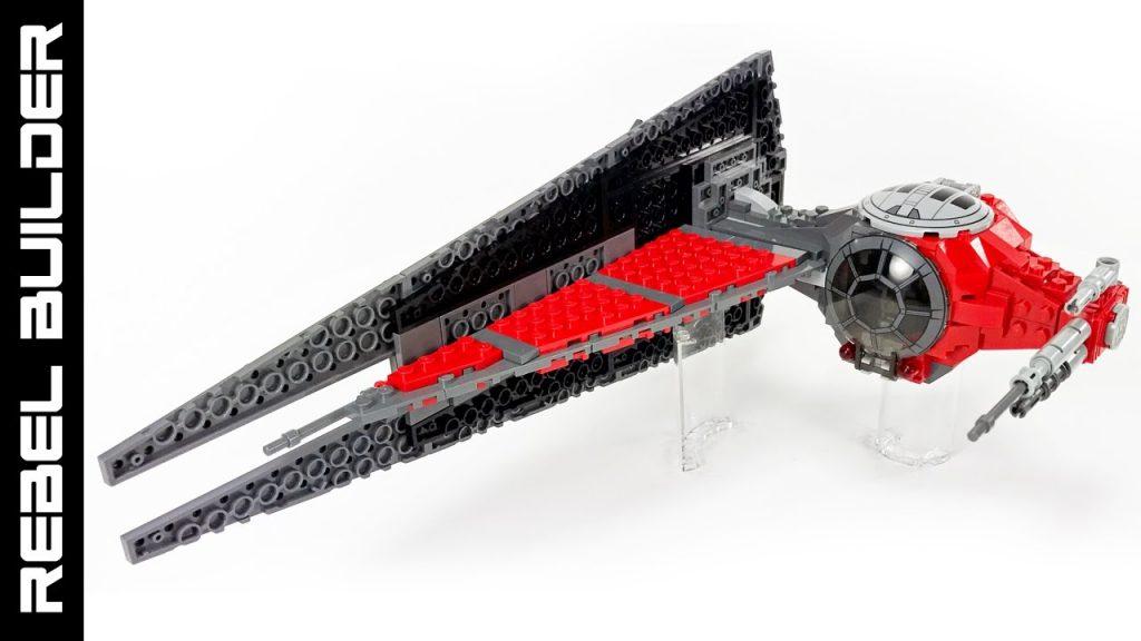LEGO Star Wars Black Ops TIE Fighter MOC!