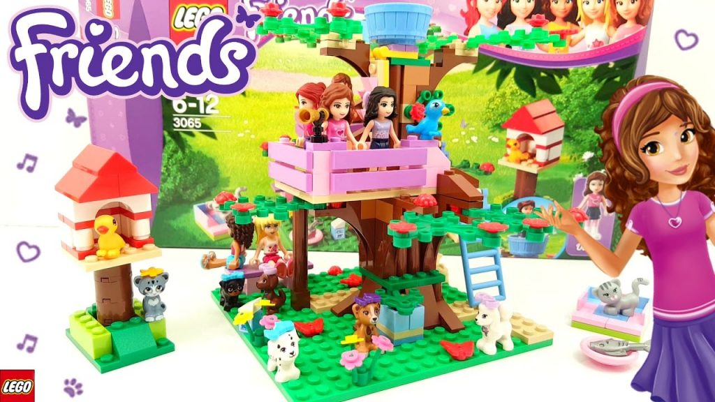 Lego Friends Olivia's Tree House Building Review 3065