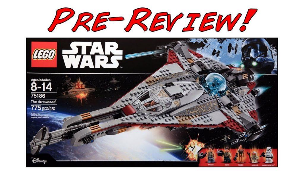 LEGO Star Wars 75186 The Arrowhead Pre-Review! (LEGO Star Wars Summer 2017 Set!)