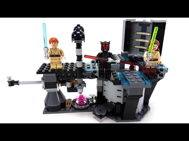 LEGO Star Wars Set 75169 Duel on Naboo Unboxing & Review deutsch