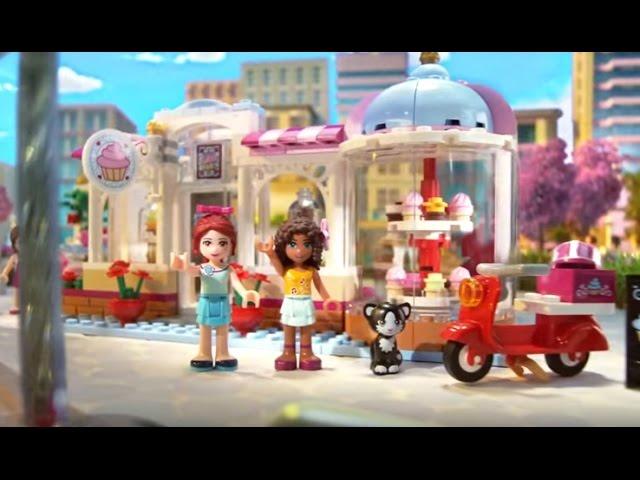 Heartlake Cupcake Café 41119 & Heartlake Supermarket 41118 – Lego Friends 2016