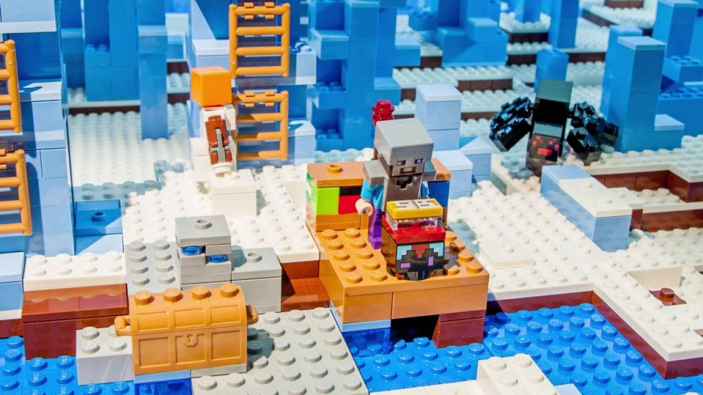 That's What Friends Are For – LEGO Minecraft – Stop motion video
