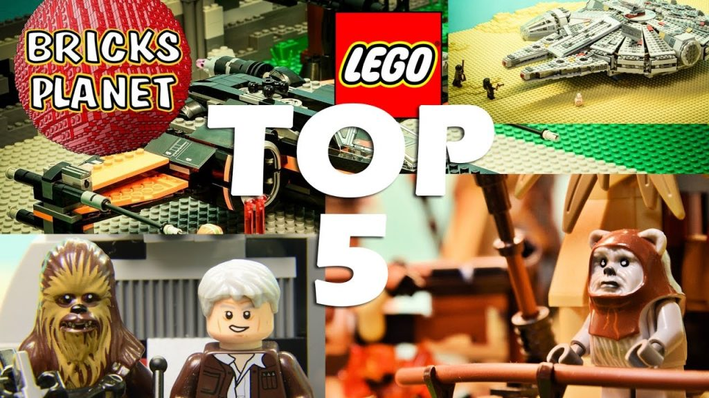Top 5 Most popular Lego Star Wars videos 2016 on my channel