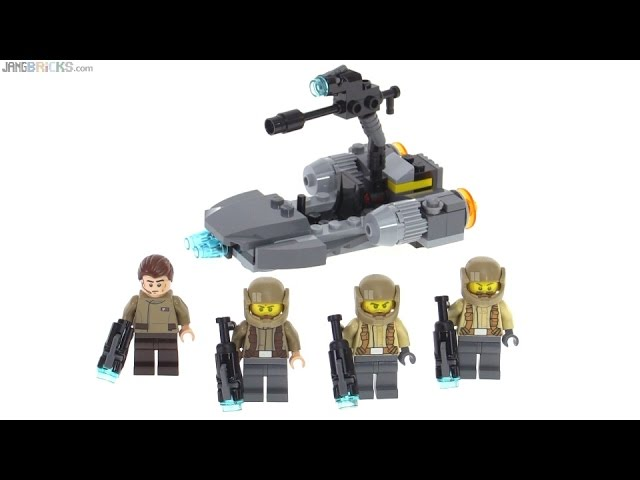 LEGO Star Wars Resistance Trooper Battle Pack review! set 75131