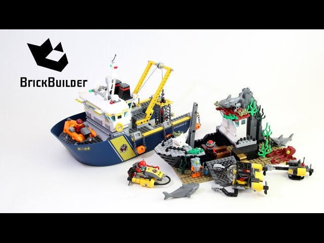 Lego City 60095 Deep Sea Exploration Vessel – Lego Speed Build