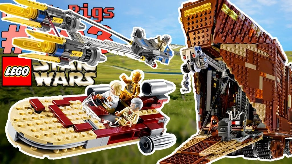 BRICK RIGS MULTIPLAYER #003 LEGO Star Wars Podracer+ Landspeeder+ Sandcrawler 🐲 Let's Play [Deutsch]