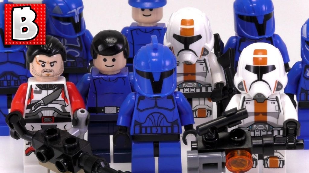 Every LEGO Star Wars Republic Trooper Minfigure Ever Made!!! | Collection Review