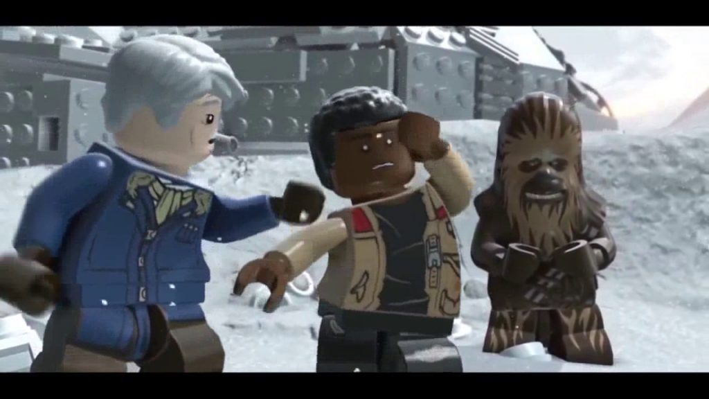 Lego Star Wars The Force Awakens Movie Cut Scenes Long Video Lego for kids