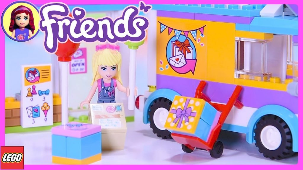 Lego Friends Heartlake Gift Delivery Build Review SIlly Play – Kids Toys