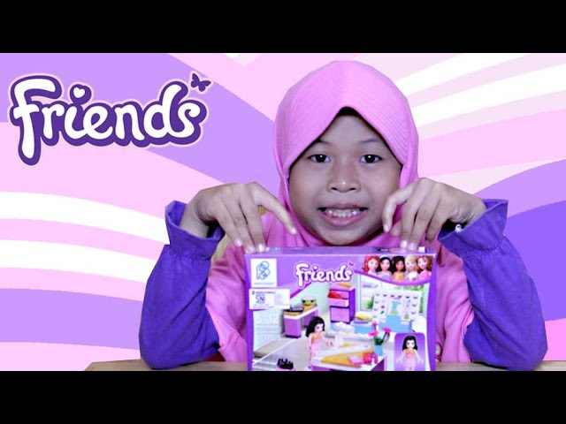 Mainan Anak | LEGO Friends ❤ Ruang Kerja Emma | Kids Toy (Game)