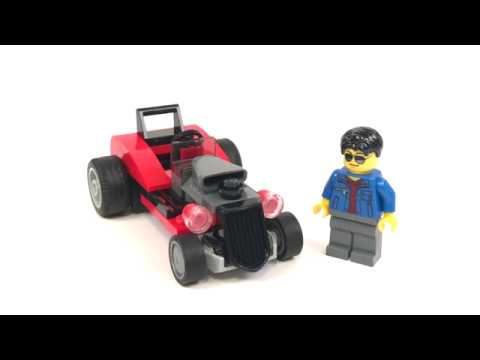 LEGO City Hot Rod Polybag Review! 30354 – 2017