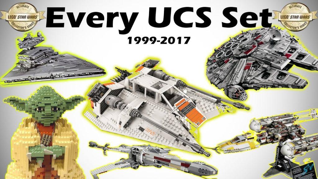 All UCS LEGO Star Wars Sets 1999-2017 HD