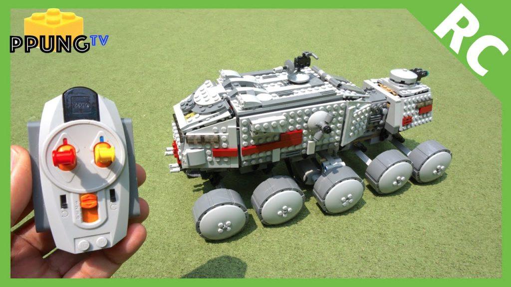 LEGO Star Wars 75151 RC motorized Clone Turbo Tank by 뿡대디