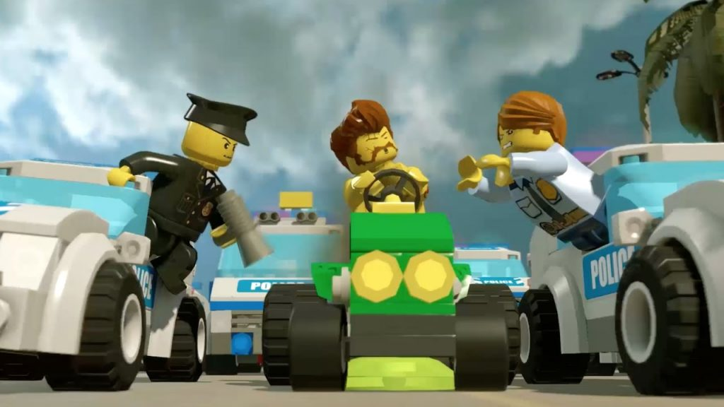 Vehicles – LEGO City Undercover – Video Game Trailer