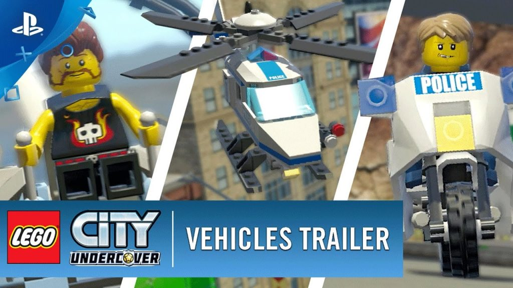 LEGO City Undercover – Vehicles Trailer | PS4