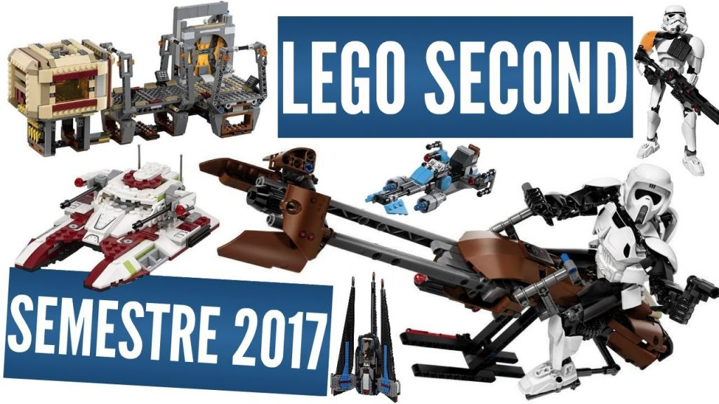 LEGO STAR WARS – SECOND SEMESTRE 2017