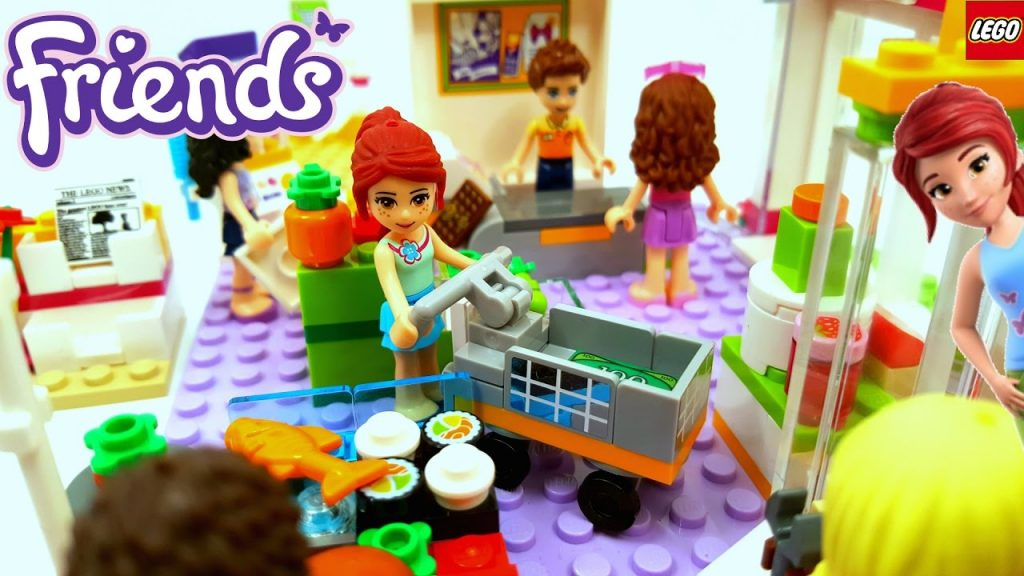 Lego Friends Heartlake Supermarket Building Review 41118