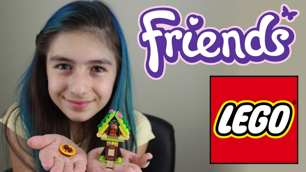 Lego Friends Esquilo Tutorial Montando e Brincando (Brinquedos, Animal) Playing Squirrel  (Toys)