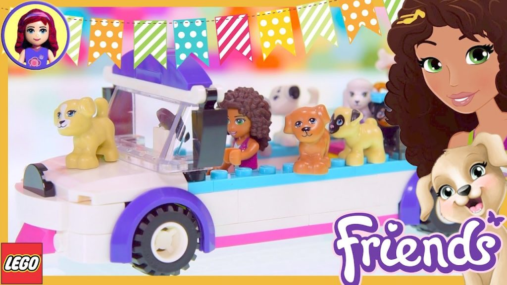 Lego Friends Puppy Parade Limo Car Build Review Silly Play Kids Toys