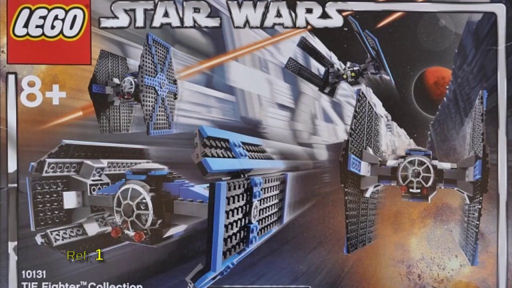 All Lego Star Wars sets from 2004