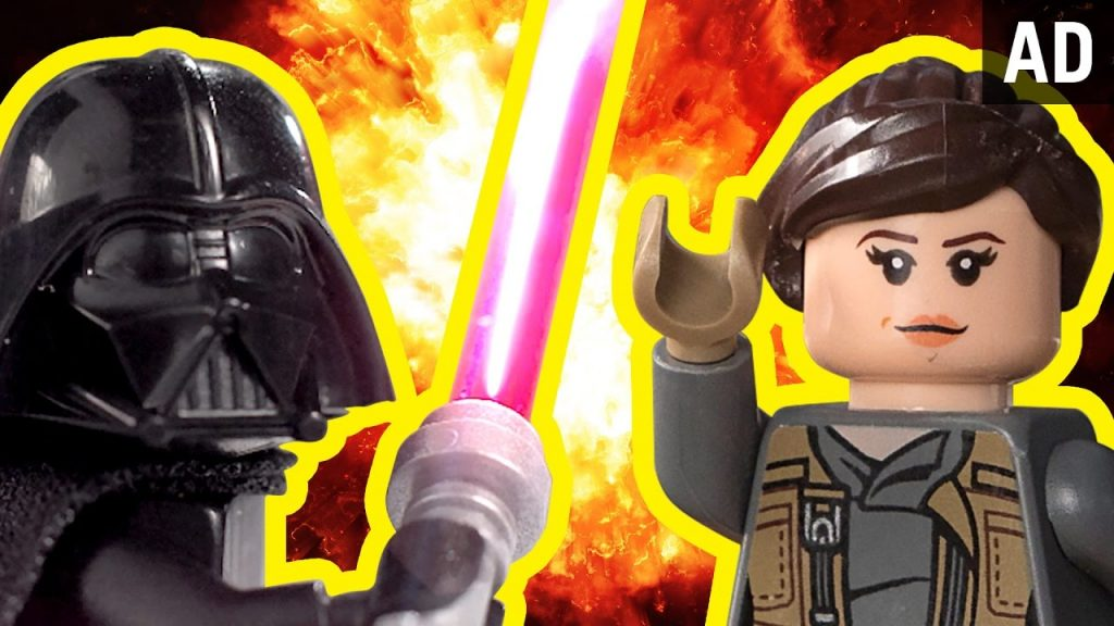 Star Wars: Rogue One As Told By LEGO | Disney