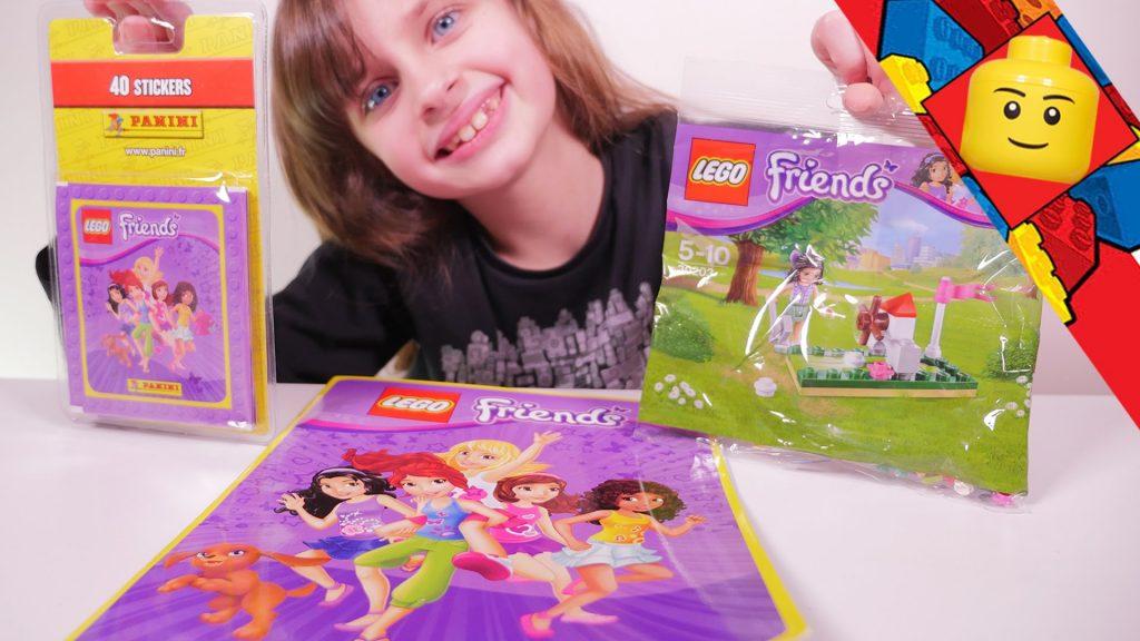 [LEGO FRIENDS] Mini-Golf et Album Panini – Studio Bubble Tea unboxing Lego Friends stuff