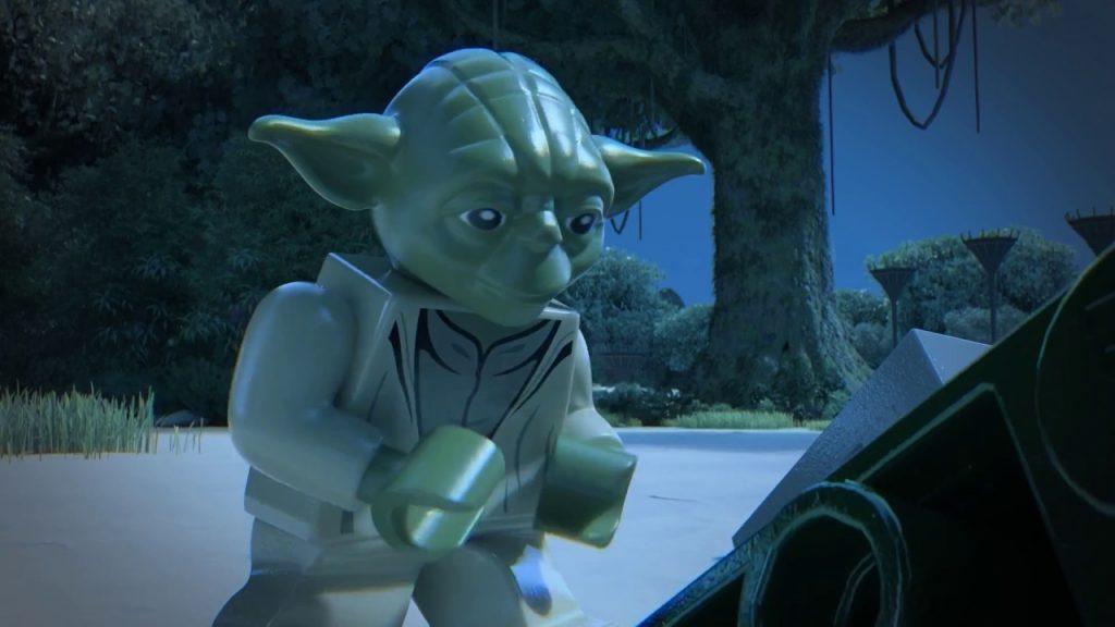 Yoda Starfighter – LEGO Star Wars – Product Animation 75168