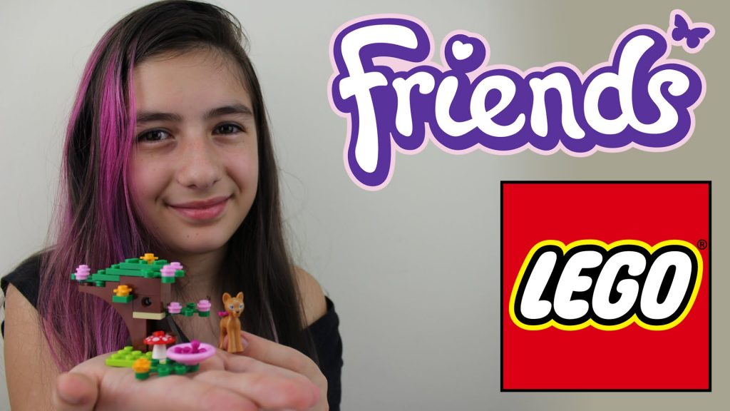Lego Friends Cervo Tutorial Montando e Brincando (Brinquedos, Animal) Playing Deer (Toys)