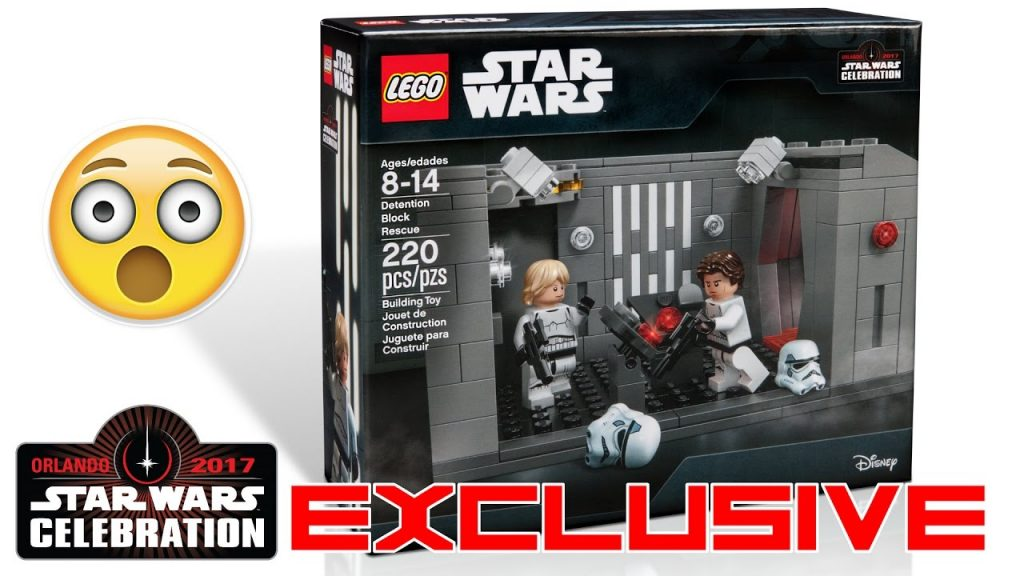 "LEGO Star Wars ""Detention Block Rescue"" EXCLUSIVE Star Wars Celebration Orlando 2017 Set Revealed!"
